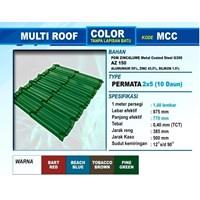 Genteng Metal  Multiroof