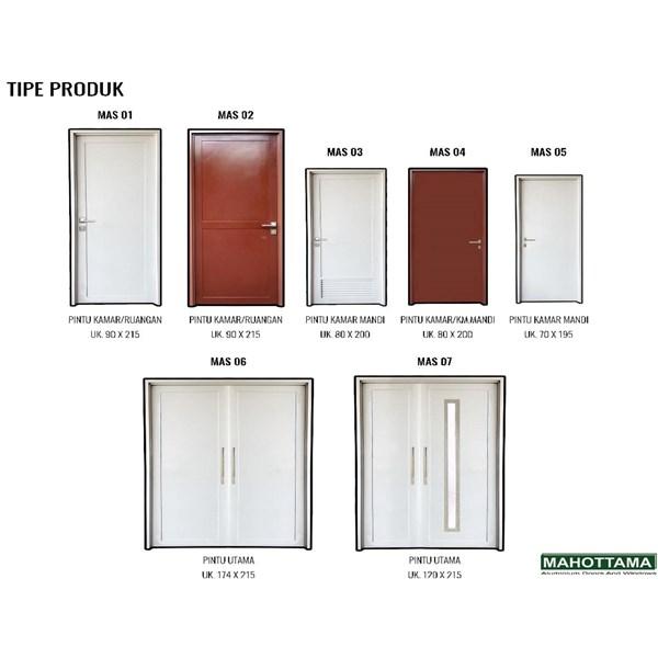 Pintu Aluminium Mahottama