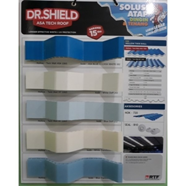 Dr.Shield Atap UPVC