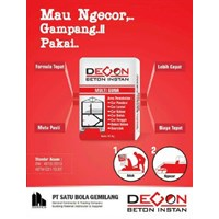 Beton Instan Multi Guna DECON