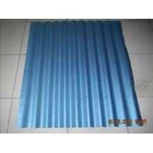 seng gelombang galvalum biru resin