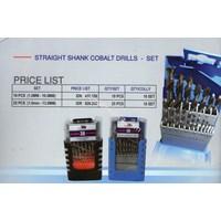 Mata Bor - Straight Shank Cobalt Drills Set
