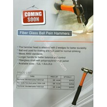 Fiber Glass Ball Pein Hammers