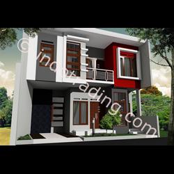 Desain Arsitek Rumah 2 Lantai Tipe 1