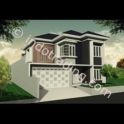 Desain Arsitek Rumah 2 Lantai Tipe 2