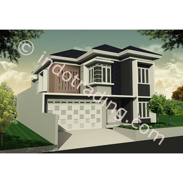 Foto Dari Desain Arsitek Rumah 2 Lantai Tipe 2 0