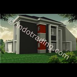 Desain Arsitek Rumah 2 Lantai Tipe 3