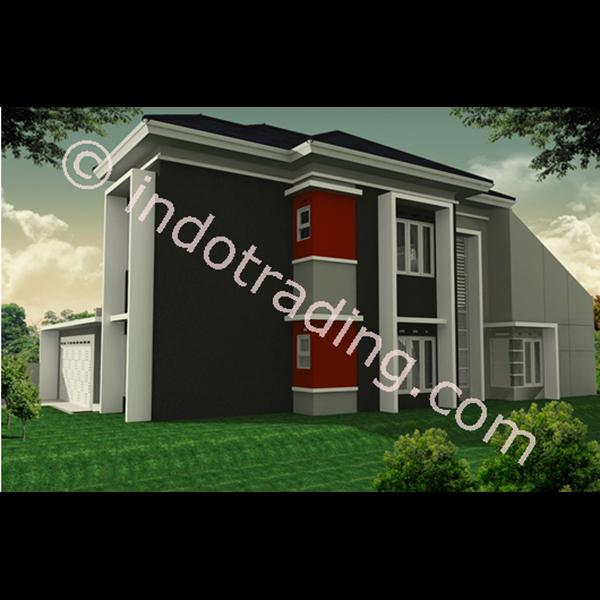 Foto Dari Desain Arsitek Rumah 2 Lantai Tipe 3 0