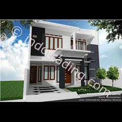 Desain Arsitek Rumah 2 Lantai Tipe 4