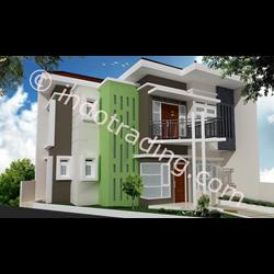 Desain Arsitek Rumah 2 Lantai Tipe 5