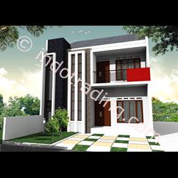 Desain Arsitek Rumah 2 Lantai Tipe 6