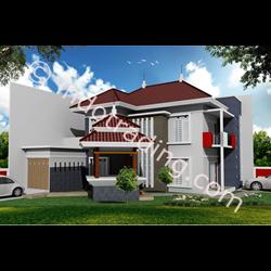 Desain Arsitek Rumah 2 Lantai Tipe 7