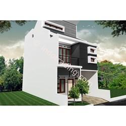 Desain Arsitek Rumah 2 Lantai Tipe 8