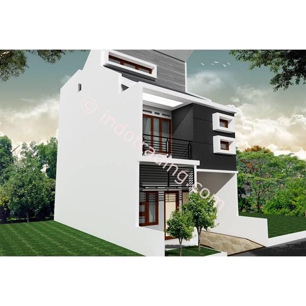Foto Dari Desain Arsitek Rumah 2 Lantai Tipe 8 0