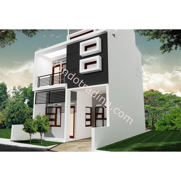 Foto Dari Desain Arsitek Rumah 2 Lantai Tipe 8 1
