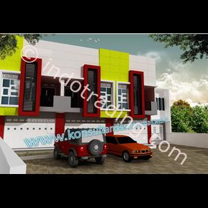 Desain Arsitek Ruko Tipe 1 By PT  Arch Gemilang Consultant