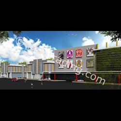 Desain Arsitek Ruko & Mall Tipe 1 By Arch Gemilang Consultant