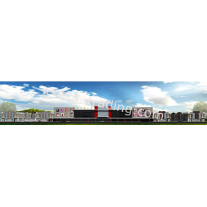 Desain Arsitek Ruko & Mall Tipe 2 By PT  Arch Gemilang Consultant
