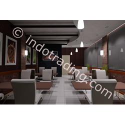 Desain Interior Cafe Bandung By Arch Gemilang Consultant