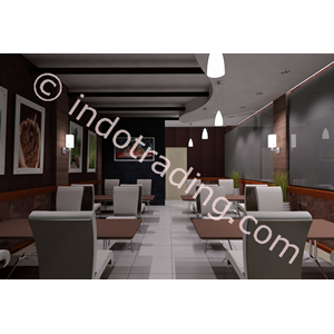 Desain Interior Cafe Bandung By PT  Arch Gemilang Consultant
