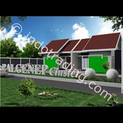Desain Arsitek Rumah 1 Lantai Tipe 2 By Arch Gemilang Consultant