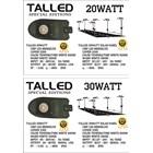 Lampu LED 20 & 30 Watt ( AC & DC ) 1
