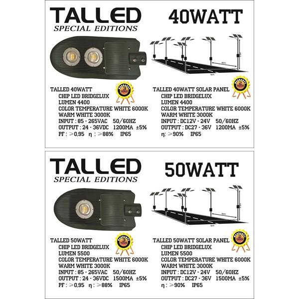 Lampu LED 40 & 50 Watt ( AC & DC )