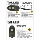 Lampu LED 60 & 70 Watt ( AC & DC ) 1