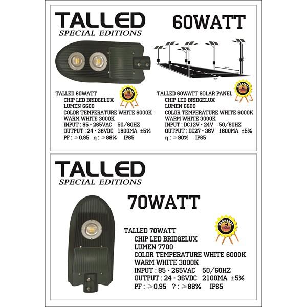 Lampu LED 60 & 70 Watt ( AC & DC )