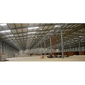 Dari Baja Ringan Konstruksi Pabrik 1