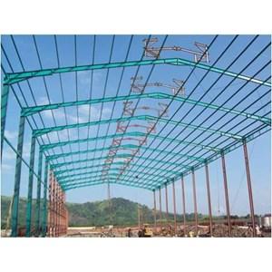 Dari Baja Ringan Konstruksi Pabrik 3