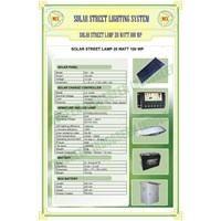 Paket Pju Solar Cell 20 Watt Tenaga Surya