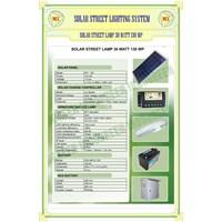 Jual Paket Lampu Jalan PJU Solar Cell 30 Watt Tenaga Surya