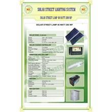 Paket Pju Solar Cell 40 Watt Tenaga Surya