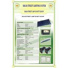 Paket Pju Solar Cell 50 Watt Tenaga Surya