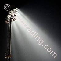 Tiang High Mast Stadion.