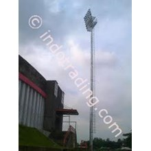 Floodlight Mast Stadium.