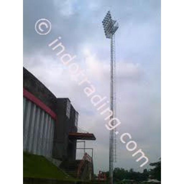 Tiang Lampu Sorot Stadion.