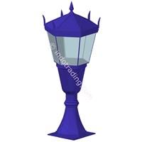 Lampu Pilar Antik Type Bagiro T.1.M 1