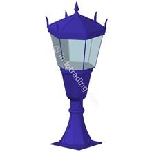 Lampu Pilar Antik Type Bagiro T.1.M