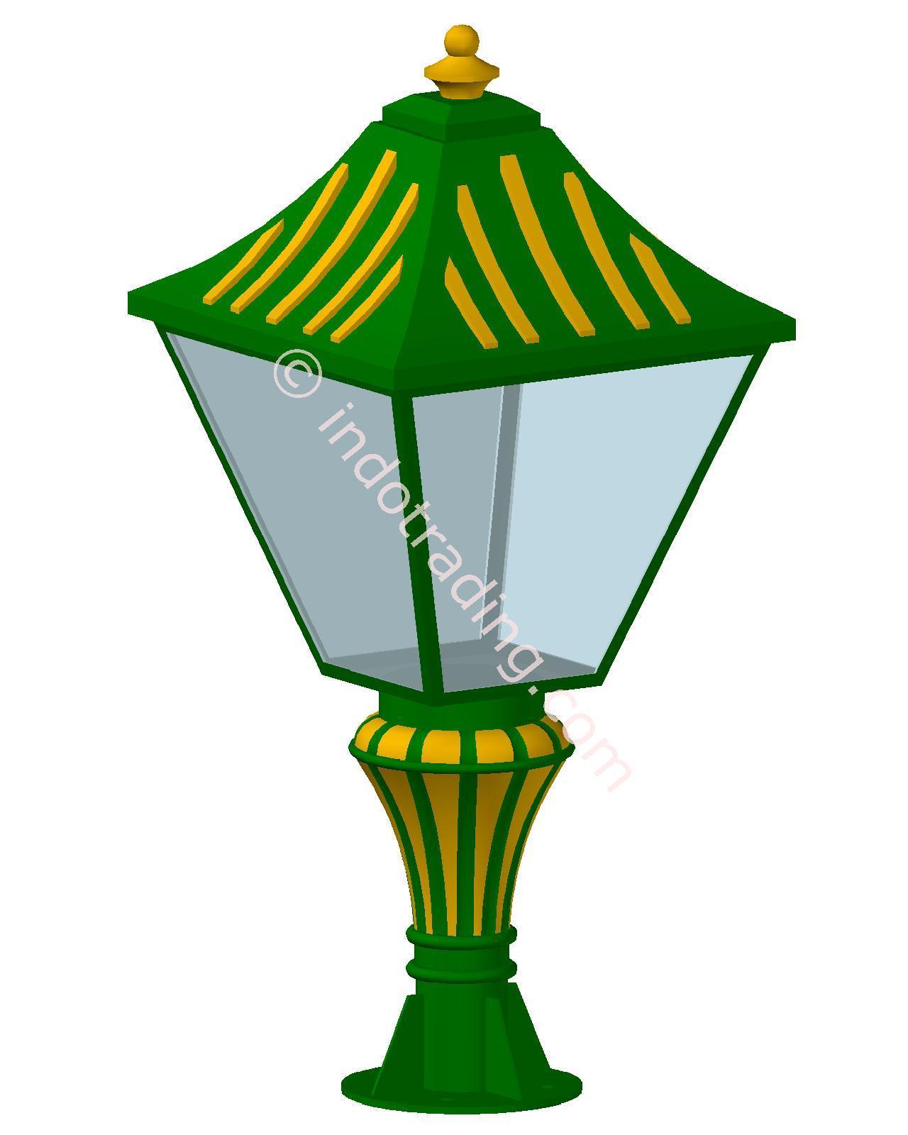 Jual Lampu Pilar Antik Type Tulip T.90.Cm Harga Murah