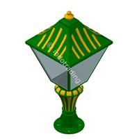Distributor Lampu Pilar Antik Type Tulip T.90.Cm 3