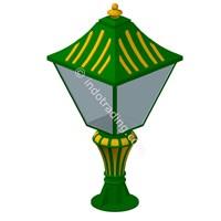 Jual Lampu Pilar Antik Type Tulip T.90.Cm 2