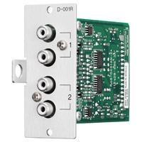 TOA D-001R Line Input Module With DSP (Peralatan Medis Lainnya) 1