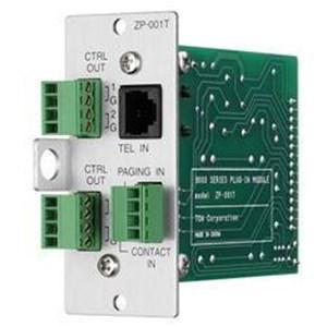 TOA ZP-001T Telephone Zone Paging Module Aksesoris Listrik