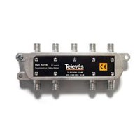 Splitter Televes 8 Way F Type5-2400MHz ( Antena Parabola )