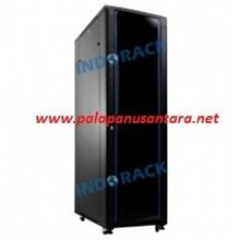 Rack Cabinet 45U ( Close rack & Glass Door For PC Desktop )