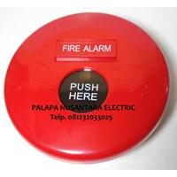 Jual Manual Push Button Fire Alarm Hooseki HS-FP1 ( Alarm Kebakaran )