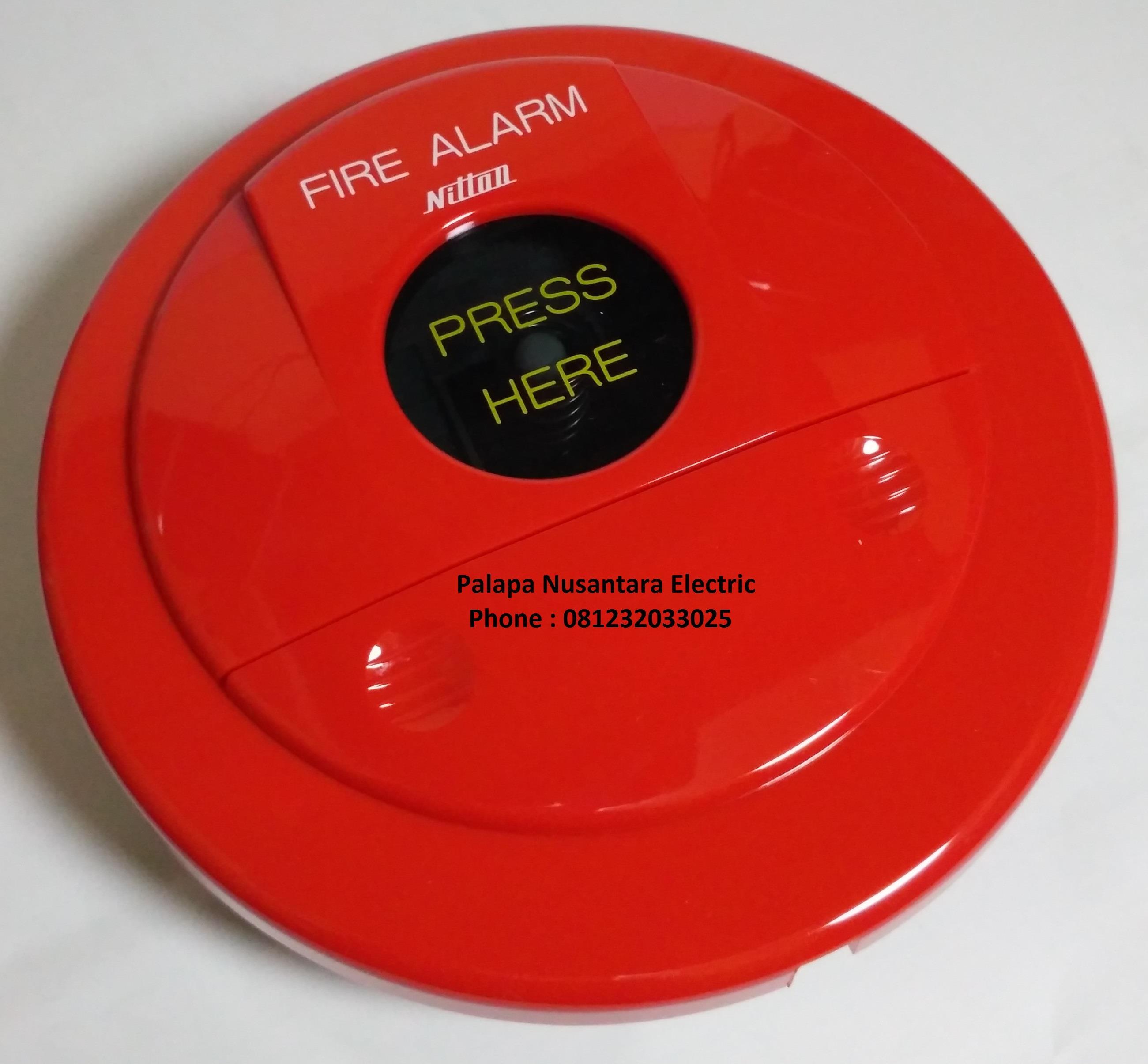 Jual Manual Push Button Fire Alarm NITTAN BD 6 24 11