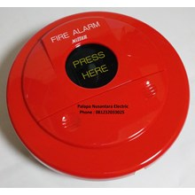 Manual Push Button Fire Alarm NITTAN BD-6-24-11 ( Alarm Kebakaran )